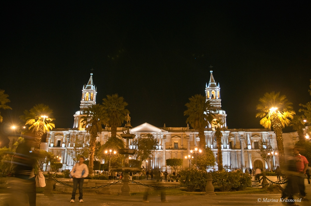 The Basilica Cathedral of Arequipa